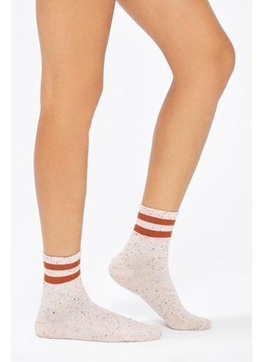 Penti Cool Soket Çorap Beyaz